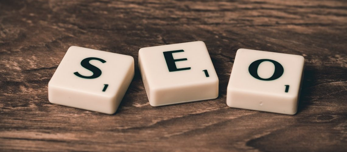 scrabble tiles with SEO
